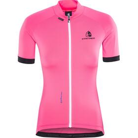 Etxeondo Maillot M/C Entzuna Maillot manches courtes Femme, pink/black